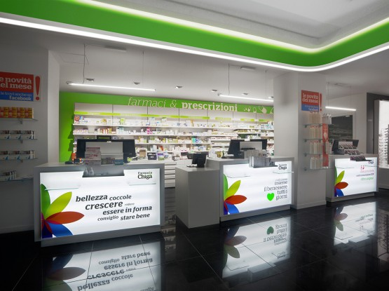Farmacia Chiga Lecce Mobil M Restyling progettazione sostenibile marketing in farmacia (1)