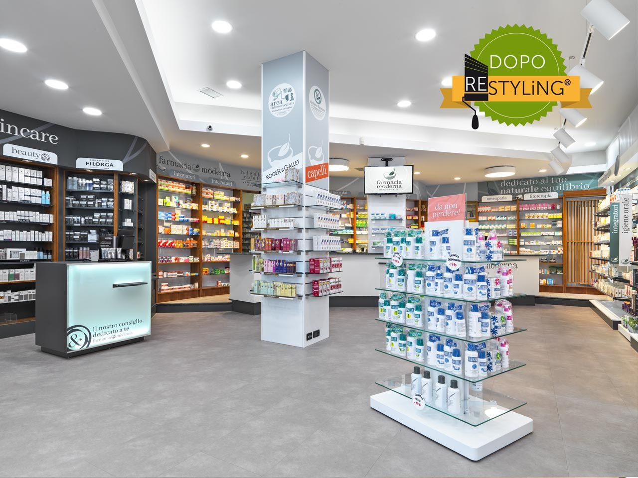espositore farmacia