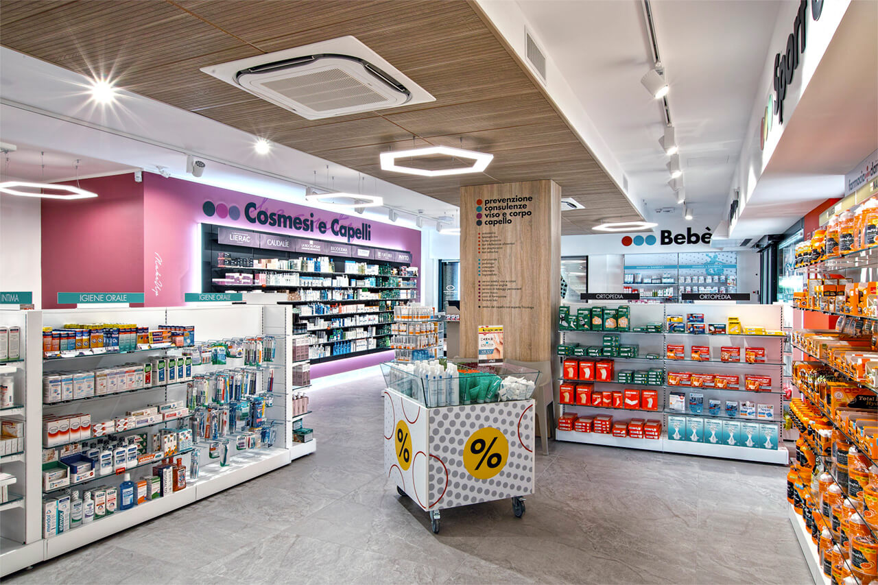 area bebè in farmacia